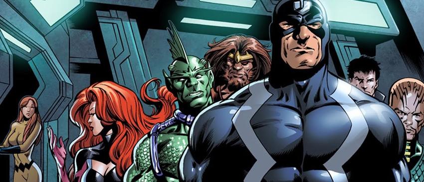INUMANOS | Marvel revela a logo oficial da série!