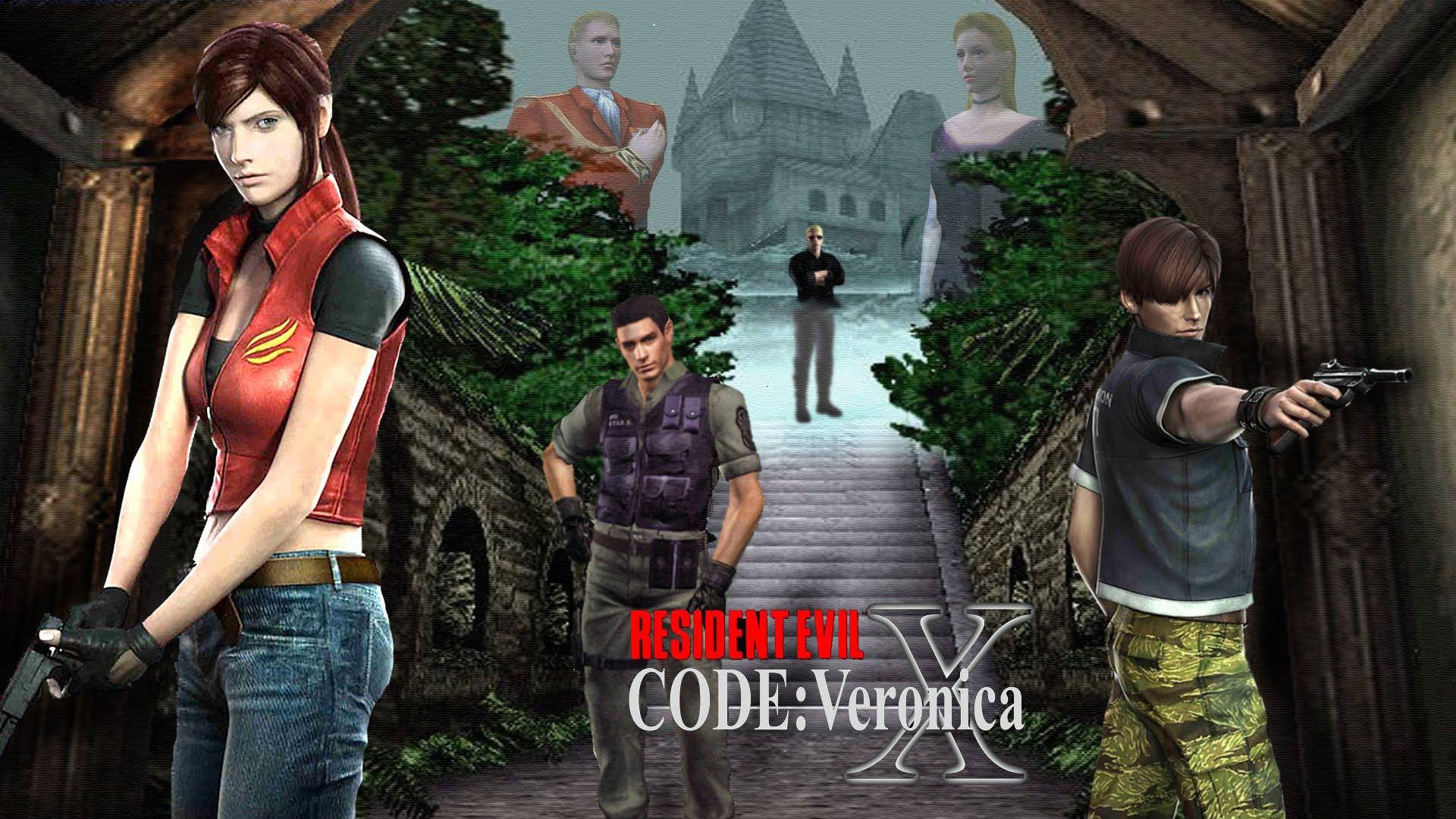 Resultado de imagem para resident evil code veronica