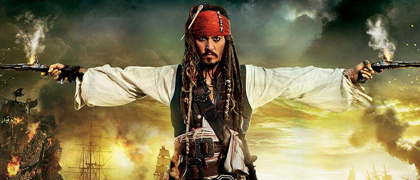 PIRATAS DO CARIBE: A VINGANÇA DE SALAZAR   Jack Sparrow e vilão ficam cara a cara em novo cartaz internacional!