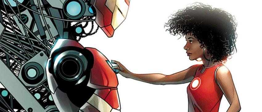 Homem de Ferro | Riri Williams aparece pela primeira vez em live-action durante comercial!