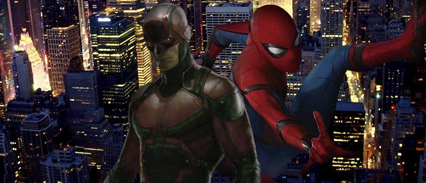MARVEL   Produtor do novo Homem-Aranha quer o encontro do herói com o Demolidor!