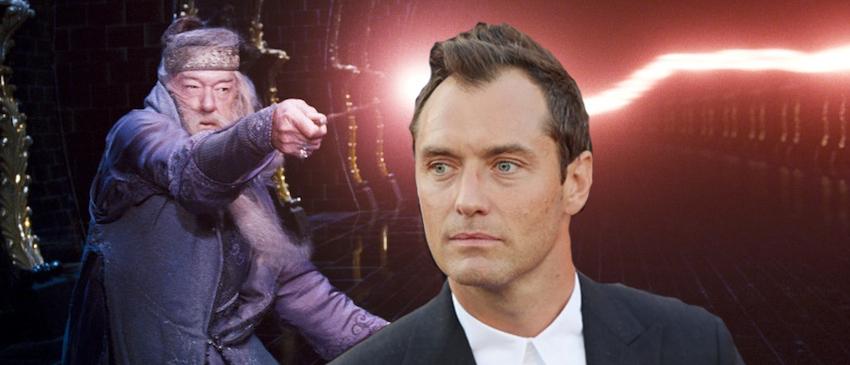 ANIMAIS FANTÁSTICOS E ONDE HABITAM 2 | Jude Law viverá jovem Dumbledore no filme!