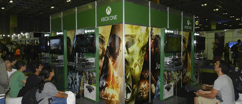 GEEK & GAME RIO FESTIVAL 2017 | Microsoft traz diversos jogos de Xbox One ao evento!
