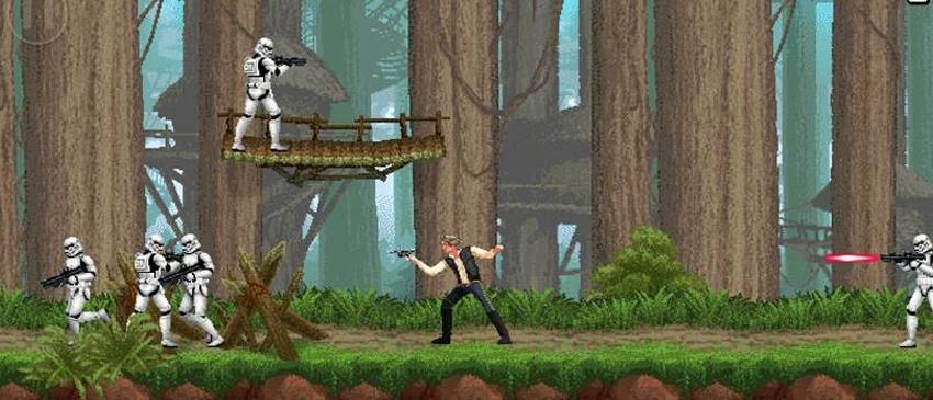 GAMES | Konami relança Contra em formato Star Wars com Han Solo!