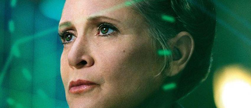 STAR WARS: EPISÓDIO IX | Carrie Fisher estará presente no filme e sem computação gráfica!