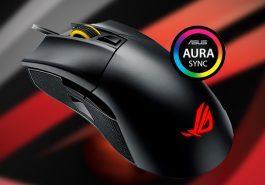 TECNOLOGIA   ASUS Republic of Gamers anuncia o mouse gamer Gladius II!