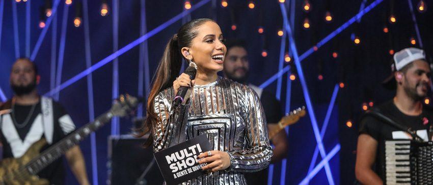 MULTISHOW | Anitta volta ao comando do Música Boa Ao Vivo!