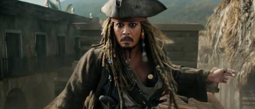 PIRATAS DO CARIBE: A VINGANÇA DE SALAZAR | Jack Sparrow é ameçado em nova imagem do filme!