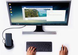 SAMSUNG   DeX transforma seu smartphone em um desktop!