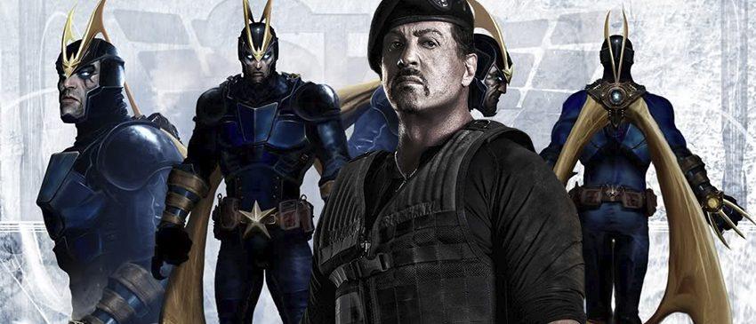 GUARDIÕES DA GALÁXIA VOLUME 2 | Sylvester Stallone explica suas motivações para entrar na Marvel!