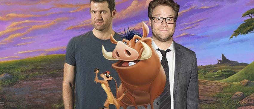 O REI LEÃO | Timão e Pumba ganham novas vozes na adaptação em live-action da animação!