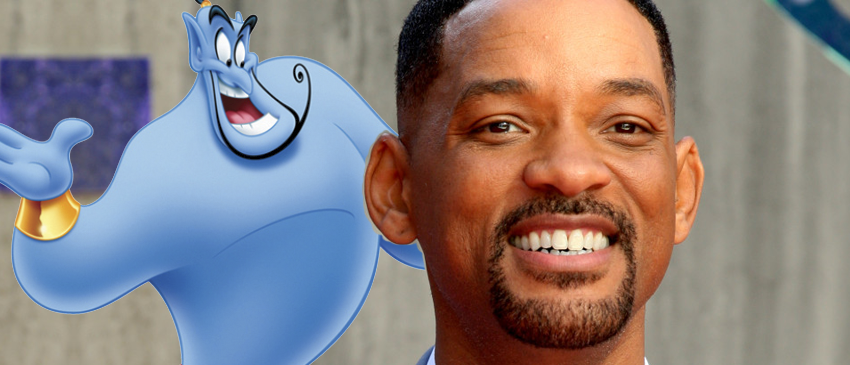 ALADDIN | Will Smith pode interpretar o Gênio em novo live-action da Disney!