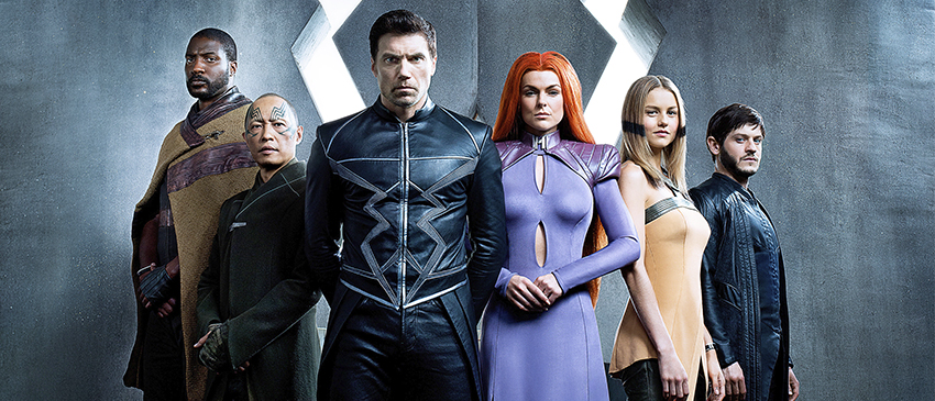 INUMANOS | Primeira foto oficial da série revela os visuais da Família Real mais poderosa da Marvel!