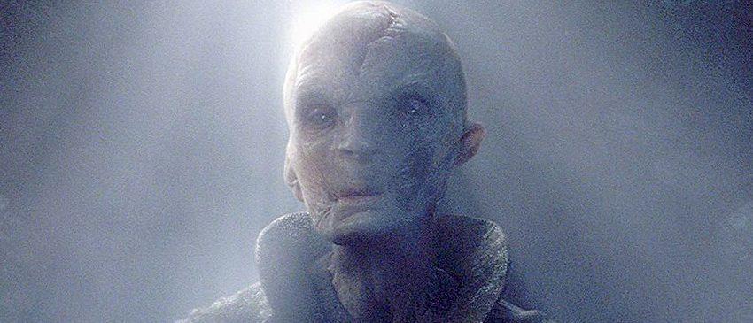 STAR WARS: OS ÚLTIMOS JEDI   Snoke deve continuar sendo um mistério no filme!