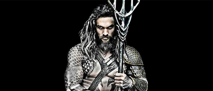 AQUAMAN | Warner revela o logo oficial do filme solo do herói!