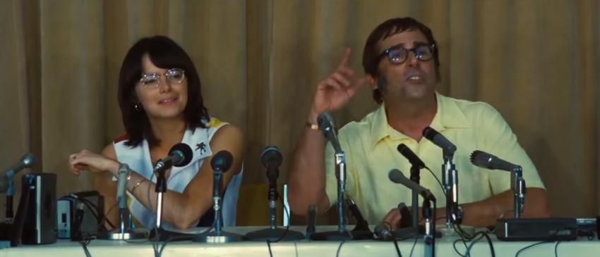FILMES | Battle of the Sexes, o novo projeto de Emma Stone e Steve Carell ganha primeiro trailer!