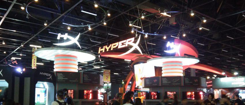 BGS 2017 | HyperX é anunciada como patrocinadora e expositora no evento!