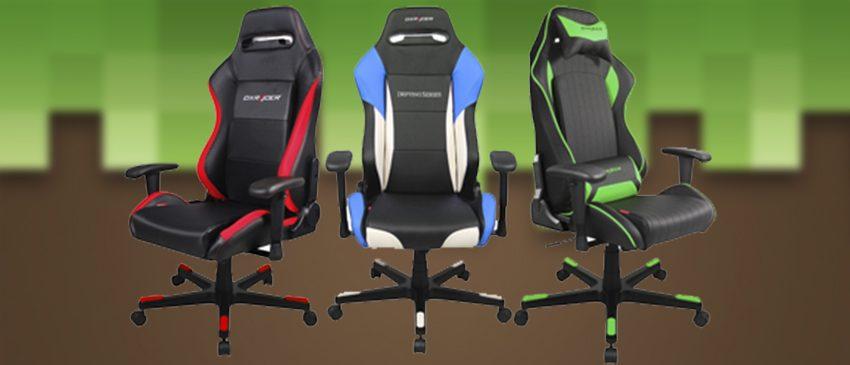 BGS 2017 | Fabricante de cadeiras gamer DXRacer confirma participação no evento!