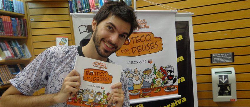 CCXP 2017 | Carlos Ruas, criador do Um Sábado Qualquer, está confirmado no evento!