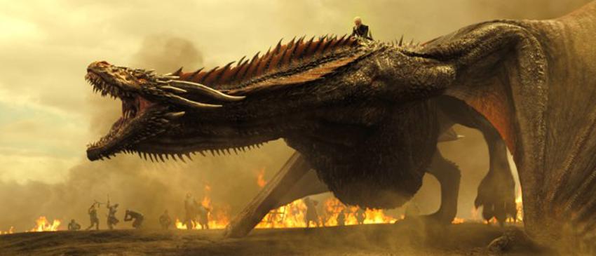 GAME OF THRONES | Daenerys, Dragões e a neve em novas imagens da sétima temporada!