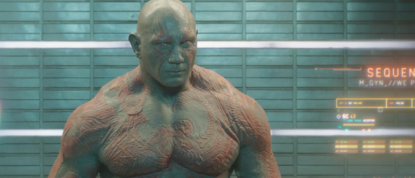 GUARDIÕES DA GALÁXIA VOL. 2 | Confira como foi o processo da maquiagem de Drax para o filme!