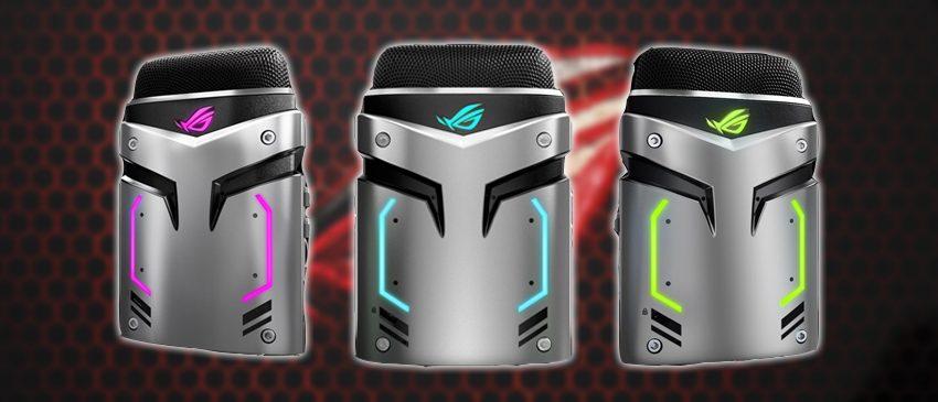 ASUS | Linha Republic of Gamers anuncia seu primeiro microfone gamer!