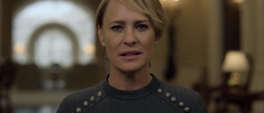 HOUSE OF CARDS | Claire Underwood manda mensagem ao povo em novo teaser da quinta temporada!