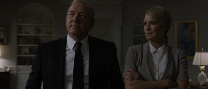 HOUSE OF CARDS | Underwoods e sua ambição por poder são os destaques do novo trailer da quinta temporada!