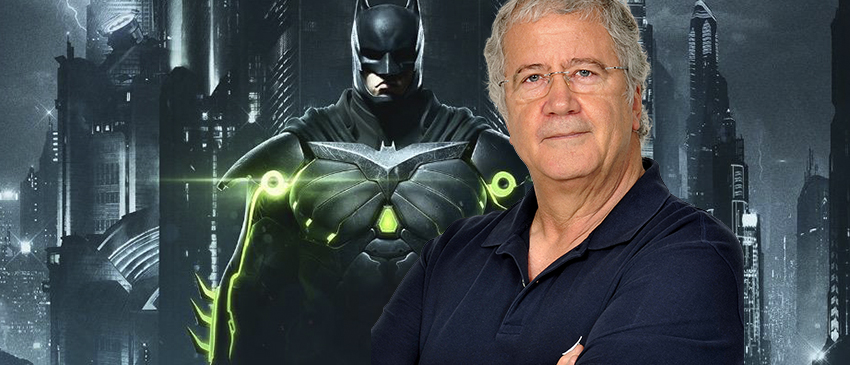 INJUSTICE 2   Marcio Seixas agradece a oportunidade de dublar mais uma vez o Batman!