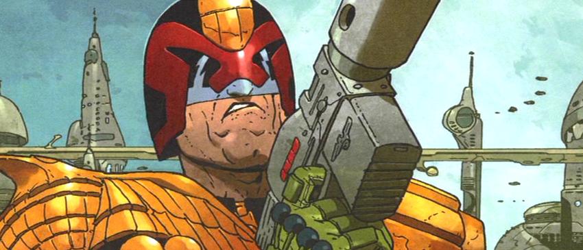 JUIZ DREDD | Global anuncia série baseada nos quadrinhos do personagem!