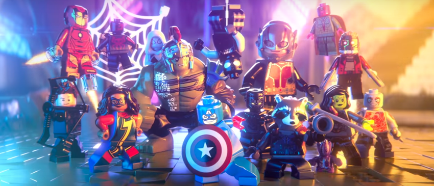 LEGO MARVEL SUPERHEROES 2 | Guardiões da Galáxia, Ego, Homem-Aranha e mais no trailer de anúncio do jogo!