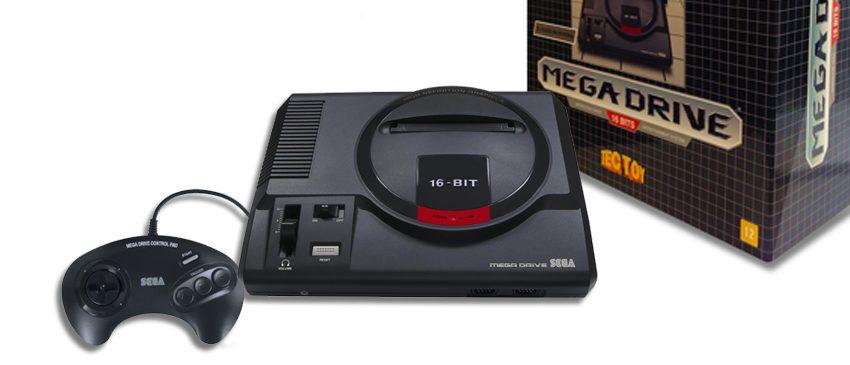 GAMES | Tectoy relança o Mega Drive!