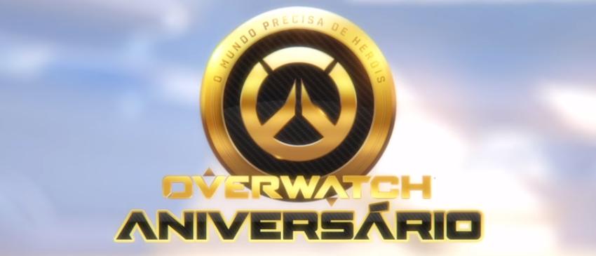 OVERWATCH | Blizzard anuncia evento especial em homenagem ao aniversário de 1 ano do jogo!