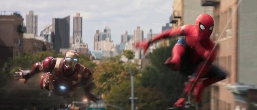 HOMEM-ARANHA: DE VOLTA AO LAR | Homem de Ferro e Teioso voam sob Nova York em nova arte conceitual!