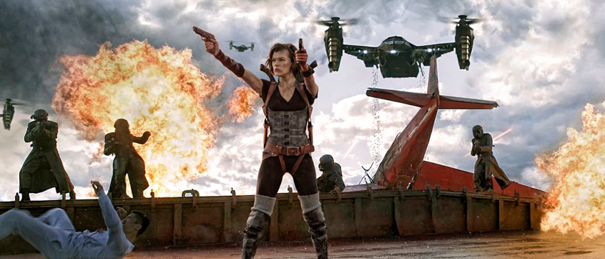 RESIDENT EVIL | Franquia nos cinemas ganhará reboot!