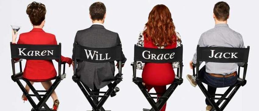 WILL & GRACE | Veja o novo cartaz sorridente do revival da série!