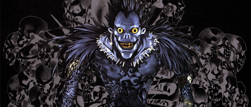 DEATH NOTE | Poster liberado pela Netflix mostra o visual do shinigami Ryuk!