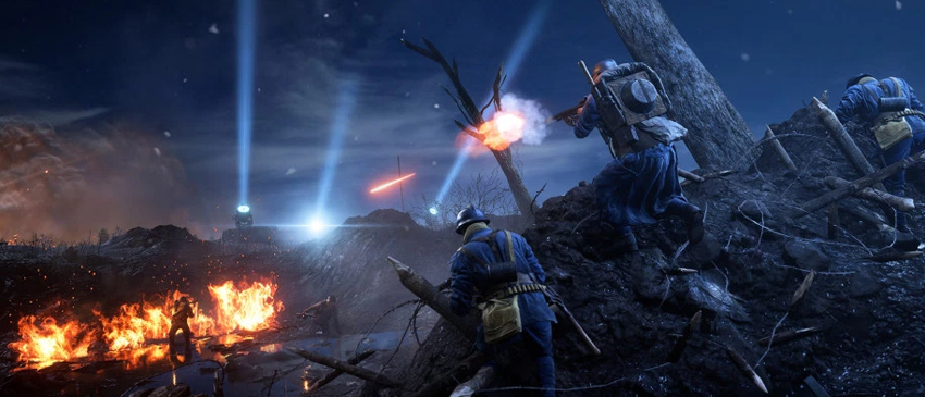 E3 2017   Assista ao vídeo gameplay do novo mapa noturno de Battlefield 1!