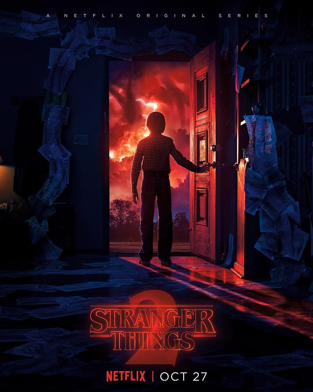 Poster Stranger Things Contatos Imediatos de Terceiro Grau