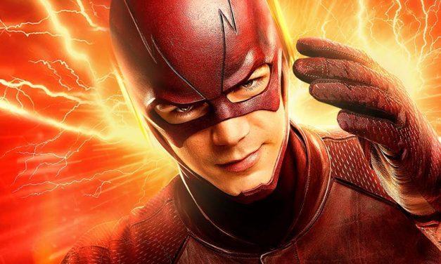 THE FLASH | Novo traje do Velocista Escarlate em cartaz da 4ª temporada!
