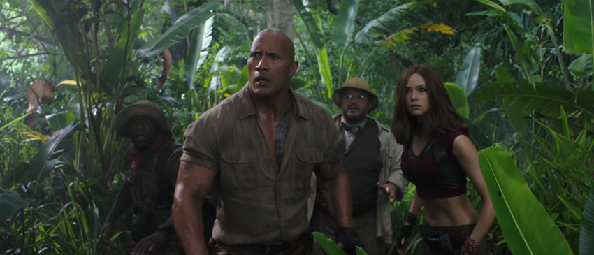 JUMANJI: WELCOME TO THE JUNGLE | Assista ao novo trailer do filme!