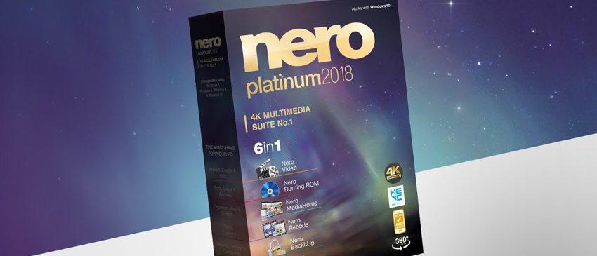 TECNOLOGIA | Nero Platinum 2018 é lançado como a primeira suíte multimídia 4K do mundo!
