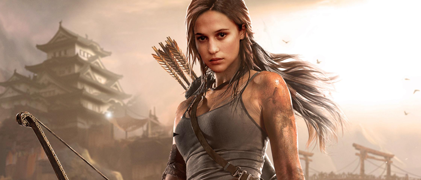 TOMB RAIDER | Atriz fala sobre os jogos e elogia Angelina Jolie!