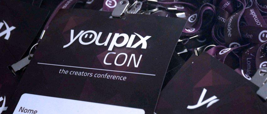 YOUPIX CON | Maior evento de produção de conteúdo digital acontece no dia 25 de setembro!