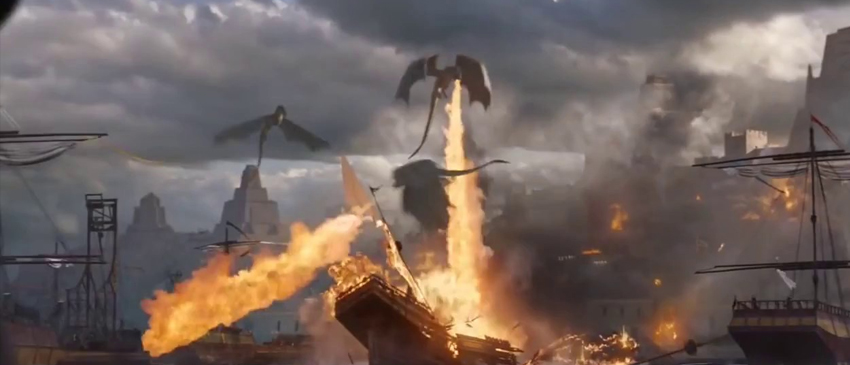 GAME OF THRONES | Vídeo mostra os bastidores da transformação de Viserion!