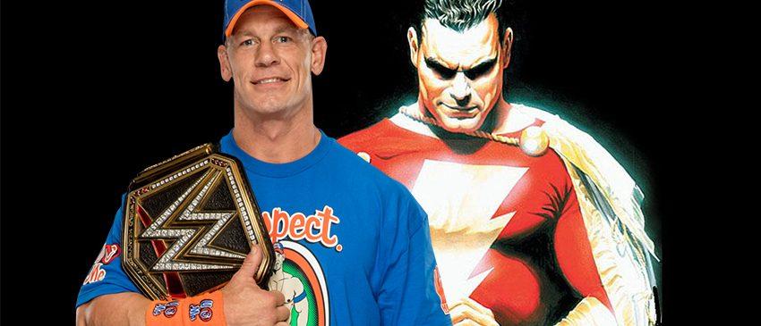 SHAZAM | John Cena não está na lista final do elenco!