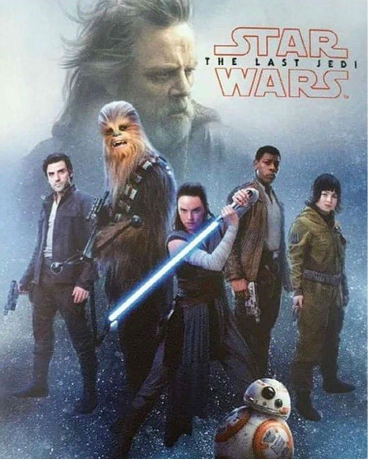 Os ÚItimos Jedi novo poster