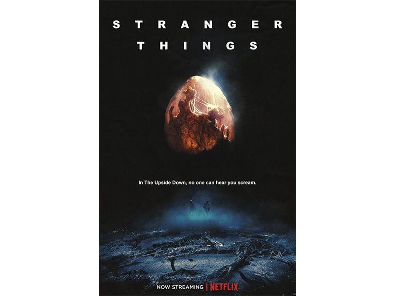 Poster Stranger Things Alien