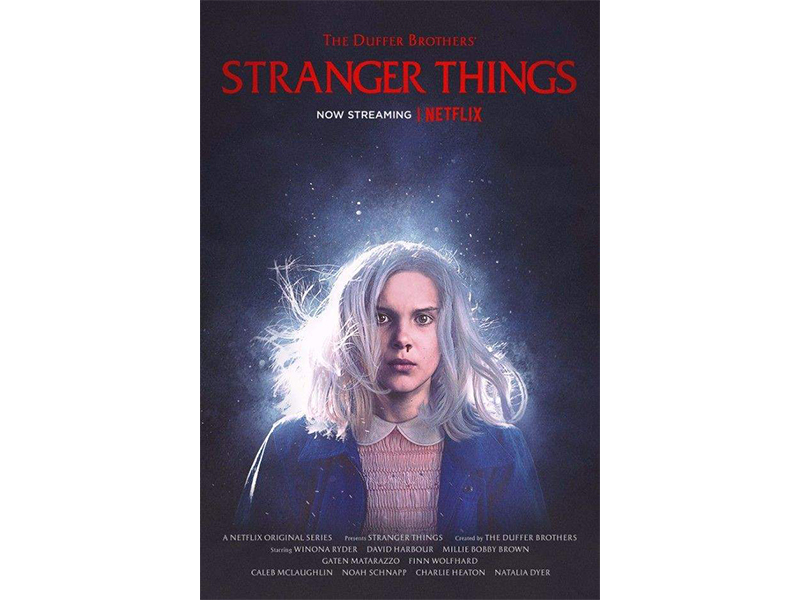 Poster Stranger Things Firestarter