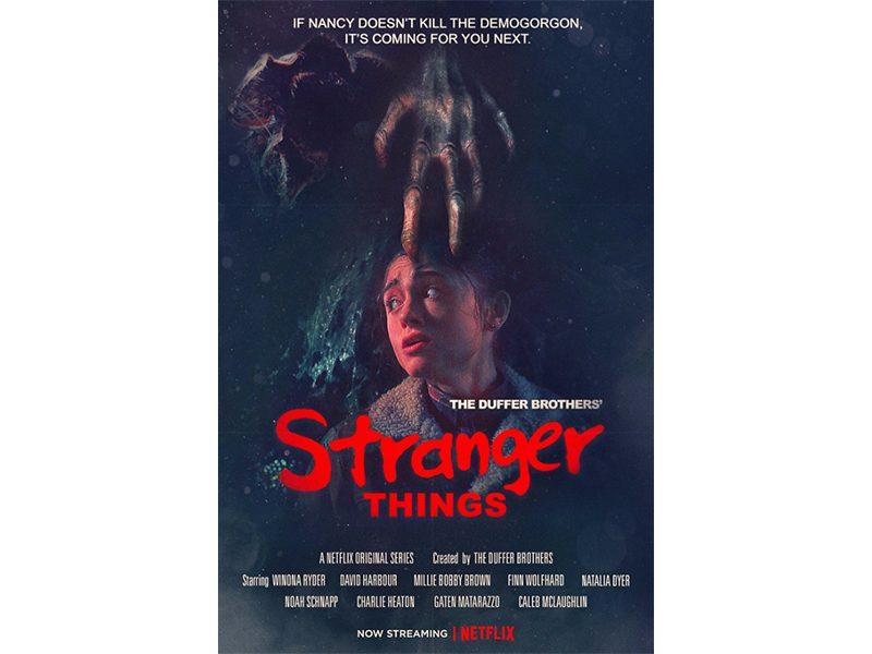 Poster Stranger Things Temporada 2 A Hora do Pesadelo